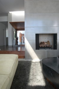 Fireplace-entry